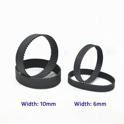 MXL Rubber Pulley Timing Belt B116/117/118/119/120 Close Loop Synchronous Belt
