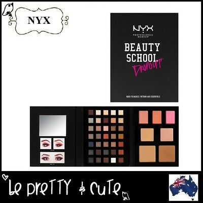 NYX BEAUTY SCHOOL DROPOUT PALETTE - BACK TO BASICS S144 Makeup Gift Set