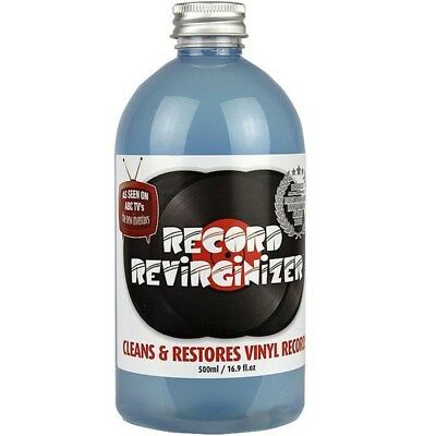 "Record Revirginizer Vinyl Cleaner for 45s, LPs & 12"" Singles (500ml)"