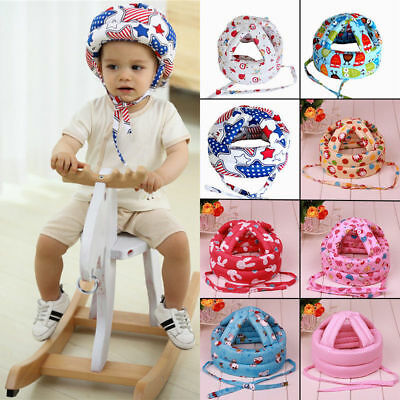 Adjustable Infant Toddler Baby Safety Hat Helmet Headguard Protector Walk Cap AU