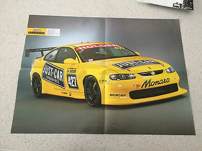 street machine cover center fold nations cup 427 monaro