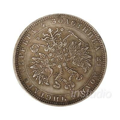Russian 1860  Ancient Silver Coins Commemorative Coin Collection Craft Gift