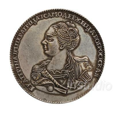 Russian 1725 Ancient Silver Coins Commemorative Coin Collection Craft Gift
