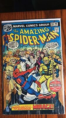 The Amazing Spider-Man #156 1st. Mirage & the wedding of Ned Leeds 9.0 VF/NM