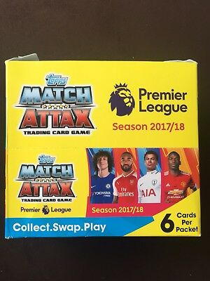 Topps Match Attack Premier League Season 2017/18 Trading Card Game