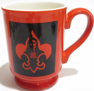 NEW Indianhead Council Boy Scouts of America BSA Red Coffee Tea Mug Cup