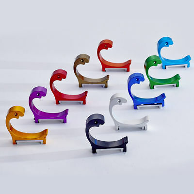 Aluminum Clothes Hook Wall Mounted Hook Hanger Hat Coat Door Dolphin Shape