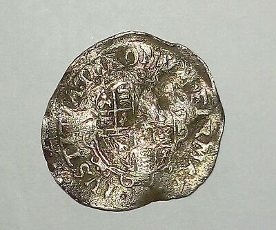 English  Silver  Medieval Charles 1st half groat  , very rare