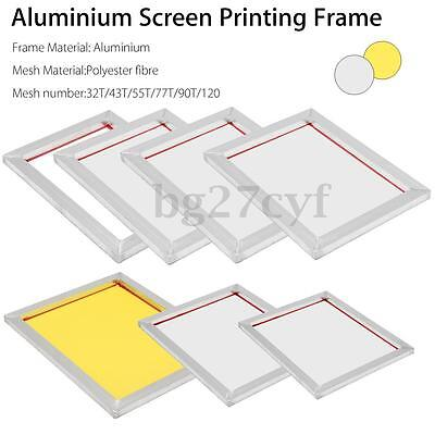 A3/A4 Aluminium Printing Frame Stretched With 43/55/77/90/120T Silk Screen Mesh