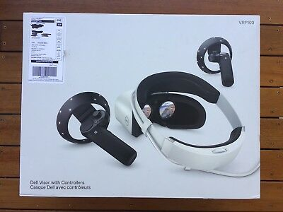 Dell visor with controllers VRP100 virtual reality headset
