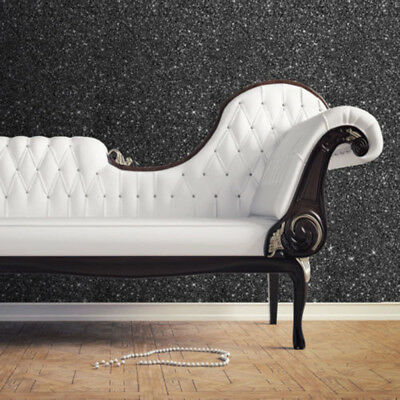 Muriva Textured Sparkle Glitter Effect Modern Feature Wallpaper 5 Colours