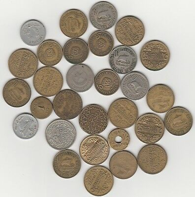 Small Lot of Coins from Lebanon, Syria & Turkey. Take a look. NO COMBINED POST.