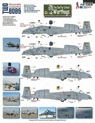 A-10A Too Cool For School Warthogs - TwoBobs - 72-065 - 1:72