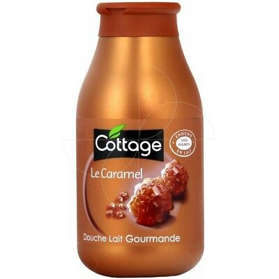 Cottage - Douche Lait Gourmande - Caramel 250ml