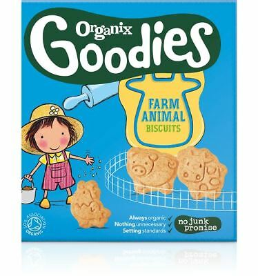 Organix Goodies Animal Biscuits 100g