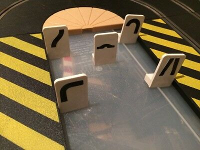 Scalextric Early 60s Hazard Signs