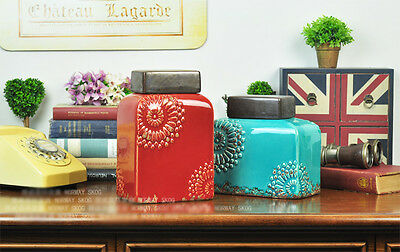 New European Style Fashion Ceramic Creative Home Decoration Crafts Gift Set