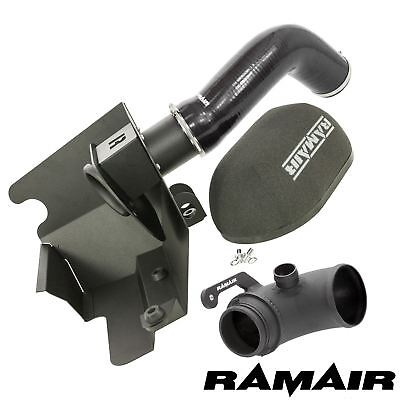 Black Ramair Air Filter Induction Turbo Elbow Kit for Audi A3 S3 2.0 TSI EA888