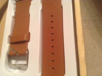 J&D Apple Watch Leather Band - BRAND NEW - NEVER USED - 42MM - Brown