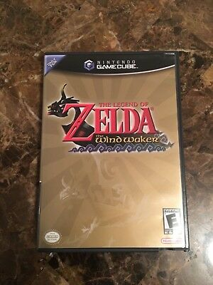 The Legend of Zelda The Wind Waker Nintendo GameCube COMPLETE TESTED GAME CUBE