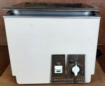 Branson Ultrasonic Cleaner * B521 * Heated Benchtop Laboratory Sonicator *Tested