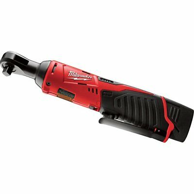 Milwaukee M12 Cordless Electric 3/8in. Ratchet Kit With 1 Battery, 12 Volt, Mo