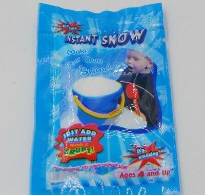 ARTIFICIAL MAGIC SNOW Fake Instant Powder White Christmas Decoration Wedding c19