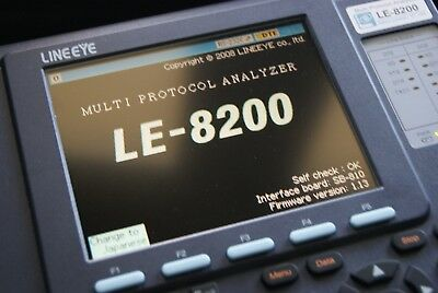 Lineeye LE 8200 E Multi-Protocol Analyzer for RS232/RS485, CAN, USB, LAN