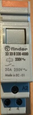Finder Installationsrelais 230V AC - 22.23.8.230.4000 - 1NO/1NC - Original Neu
