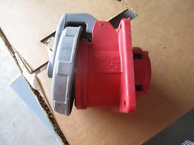 Hubbell 530R7W 30 Amp 277/480 Volt Pin&Sleeve Receptacle- Ps67