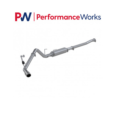 MBRP S5132P 3 Aluminized Single Side Exit Cat Back Exhaust System