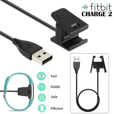 USB Charging Cable Charger fit for Fitbit CHARGE 2 Fitness Tracker Wristband UK