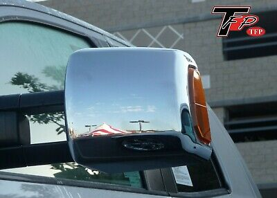 Toyota Tundra 2007 - 2013 TFP ABS Chrome Towing Mirror Cover Kit