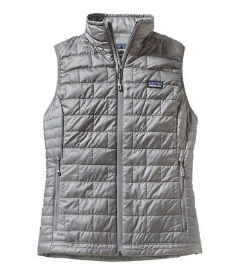 NWT Patagonia Women's Nano Puff Vest Gray Medium