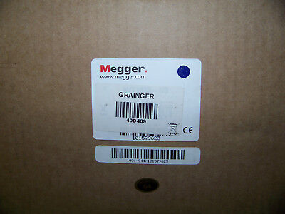 Megger LCD AC & Battery Megohmmeter Insulation Resistance: 20 Teraohm 40D469 New