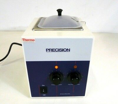 "Precision Thermo Scientific 2827 Heated Water Bath 2.5L 5"" x 6"" x 6"" Laboratory"