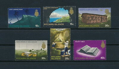 Pitcairn 104-9 MNH, Captain Bligh & the Bounty, 1969