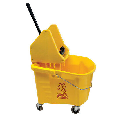 Continental 35-Quart Splash Guard® Combo Pack, Mop Bucket & Wringer (Down-Press)