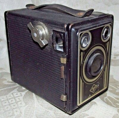 Antique AGFA  B-2 Cadet Box Camera  Early 20th.C. 10CmT