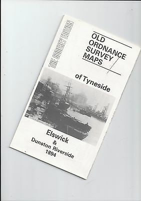 """Godfrey Edition of reproduction 1894 OS map ELSWICK 17 app15"""" to mile"""