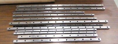 Linear Rails INA THK Mixed Lengths Lot of 12