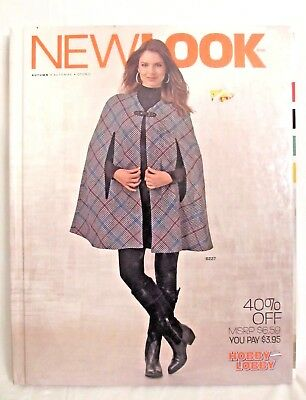Sewing Pattern Book NEW LOOK Fall 2013 Fashion Catalog 300pp GOOD condition