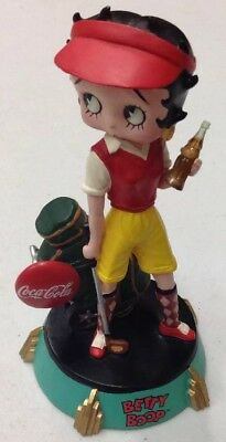 Coca-Cola Betty Boop Golf Premier Edition Figurine No. 1144/4800