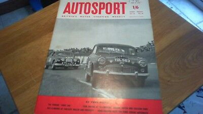 Autosport Britain's Motor Sporting Weekly June 13, 1958