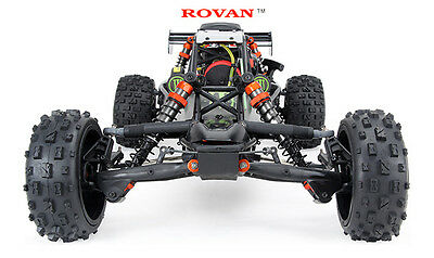 R/C 1/5 30.5cc Rovan Baja Remote Control with Black monster body