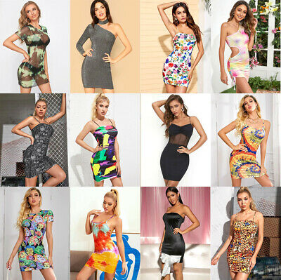 WHOLESALE LOT CLOTHING 30 WOMEN MIXED DRESSES SUMMER TOPS CLUB WEAR M Medium