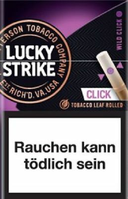Lucky Strike Wild Click Filter Cigarillos