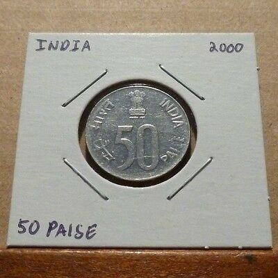 50 PAISE COIN - 2000 - India