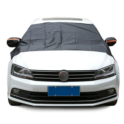 Car Magnet Windshield Windscreen Cover Sun Snow Ice Frost Wind Winter Protector