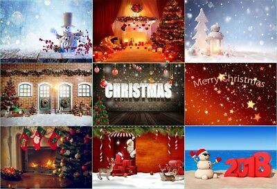 7X5/10X8ft Photo Backdrops Christmas New Year Theme Photography Background